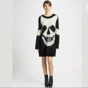 Alexander McQueen Skull Intarsia Sweater Dress